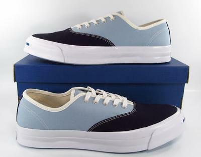 776580861d2e Converse Jack Purcell JP Signature Series CVO Ox Two-Tone NAVY BLUE GRAY  151455C