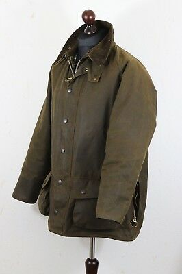 BARBOUR A 50 MOORLAND Jacket Waxed Cotton size C 44 / 112 cm Hunting Shooting