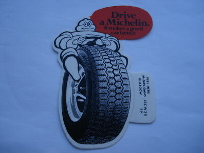 1970S Drive A Michelin It Makes A Good Car Better Unused Car Advertising Sticker