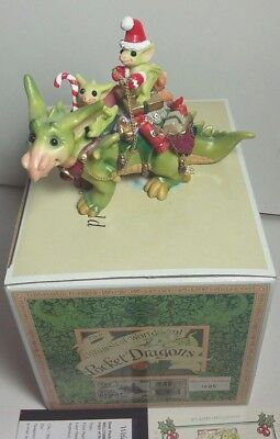 """Limited Edition World Of Whimsical Pocket Dragon """"special Delivery"""""""