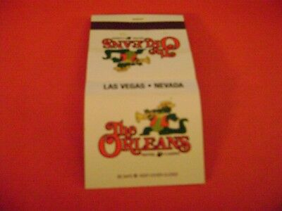 """1- Match book, """"THE ORLEANS HOTEL & CASINO"""", Las Vegas complete. (NICE)"""