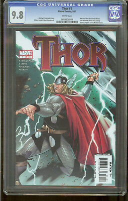 Thor 1 CGC 9.8 2007 White Pages
