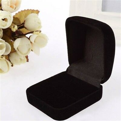 Box Fashion Wedding Vintage Velvet Ring Box Jewelry Holder Ring Display Box