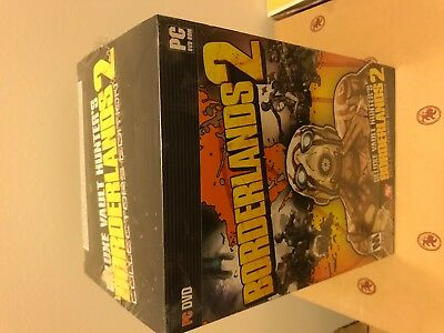 Borderlands 2 [ Deluxe Vault Hunter's Collector's Edition ] (PC) NEW RARE