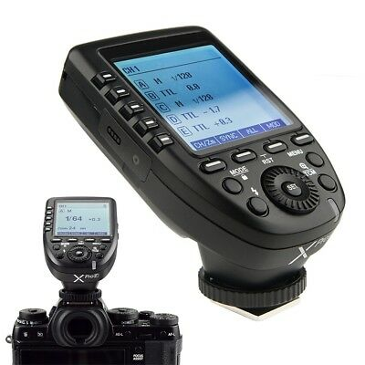 Godox XPro-F 2.4G TTL LCD Wireless Flash Trigger For Fujifilm Series Camera