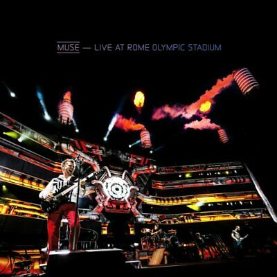 Muse - Live at Rome Olympic Stadium - Muse CD 3KVG The Cheap Fast Free Post The