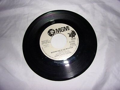 Donny & Marie Osmond: Morning Side Of The Mountain / DJ Copy / 1974 / 45 RPM