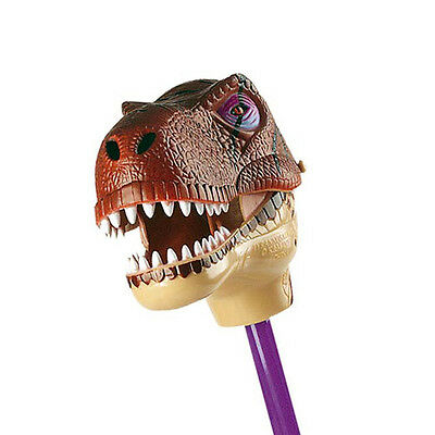 *NEW* Wild Republic Novelty Fun Trex T-rex Dinosaur Snapper Puppet on Stick 49cm