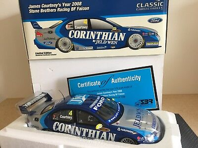 1/18 – James Courtney 2008 Ford BF Falcon