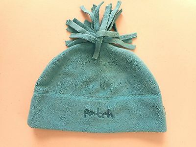 Baby boy boys velour beanie w tassles Pumpkin Patch Size S so soft 50 cm blue