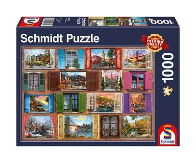 puzzle 1000 teile schmidt thomas kinkade painter of light 57444 51028 0 neu ovp eur 11 99. Black Bedroom Furniture Sets. Home Design Ideas