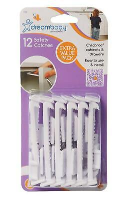 Dreambaby Safety Catches, 12 Piece Dreambaby Free Shipping!
