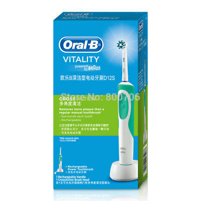 Braun Oral-B Oral B Vitality Cross Action Rechargeable Electric Toothbrush Timer