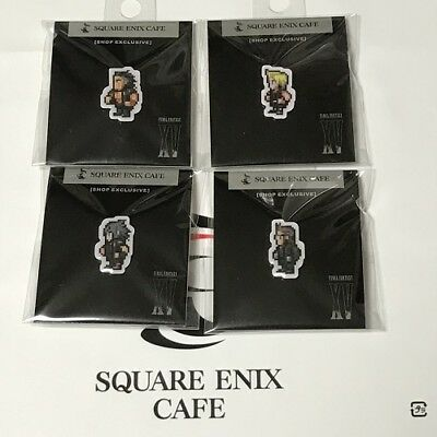 SQUARE ENIX CAFE Final Fantasy XV Pins set of 4 Ignis Gradio prompt Noctis NEW