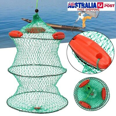 Live Bait Cage Collapsible Floating Keeper Net Live Fish Force Ten Tackle Lbc
