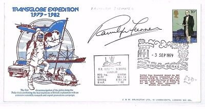 FF34 1979 GB *TRANSGLOBE EXPEDITION* Cover Signed EXPLORER *Ranulph Fiennes*