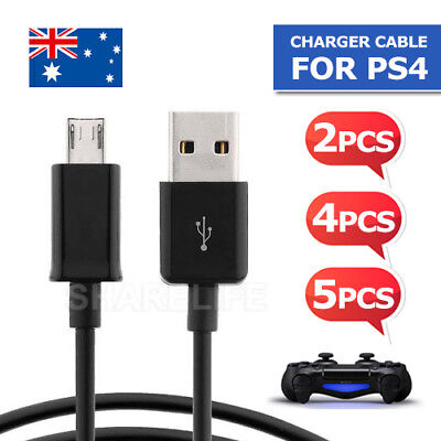 1x/2x/3x/5x USB Charger Charging Cable Cord for PS4 PLAYSTATION 4 Controlle