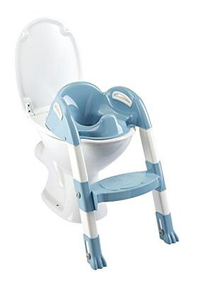 Thermobaby - THE - 003 - N I Kiddyloo Toilettentrainer, weiß/blau