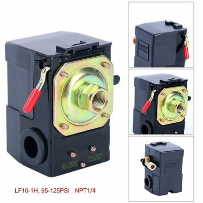 Air Compressor Pressure Switch 95-125 PSI ,LEFOO Pressure Control US Free Ship