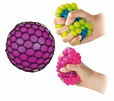 Squishy Mesh Ball Squeeze Toy Stress Office Secret Santa Stocking Filler