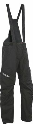 Fly Racing SNX High Performance 2016 Mens Snowmobile Pants Black Lite