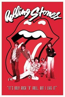 Rolling Stones : It's Only Rock & Roll Poster grand format 61 x 91.5 cm