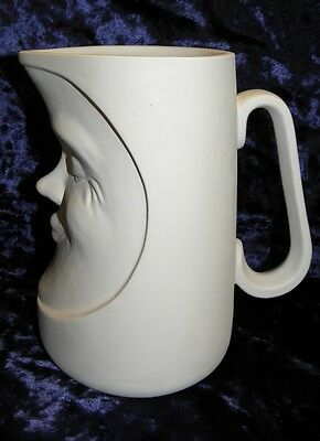 Ceramic Ready to Paint Bisque sun Water Jug