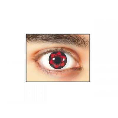 Lenti A Contatto Rosse Red Cosplay Contact Lenses Star Halloween Carnevale #1