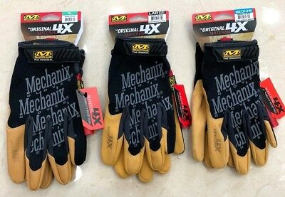 Mechanix Wear Gloves 4X STRONGER VS Original Material SIZES M-L-XL Mechanic Work