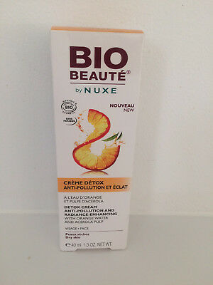 Nuxe Bio Beaute Creme Detox Anti-Pollution 40Ml