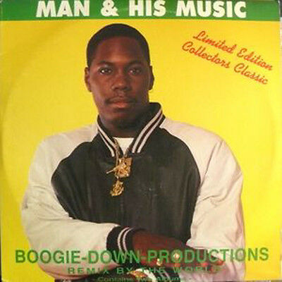 Boogie-Down-Productions ‎– Man & His Music 2xLP NEW SEALED Reissue