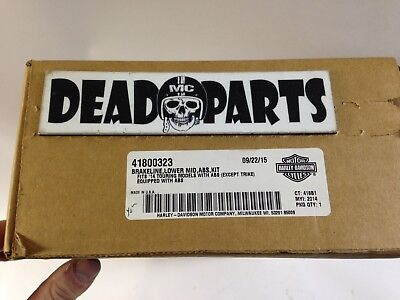Harley NEW 41800323 touring ABS brake line cable hose