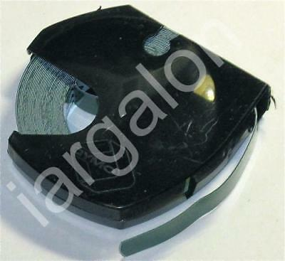 """DYMO embossing Tape 5201-05 Glossy Green 3/8"""" x 12 Ft NEW Label Labeling"""