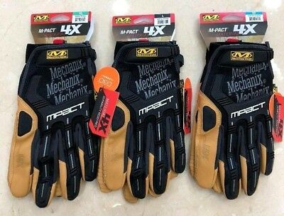 Mechanix Wear M-Pact 4X STRONGER VS. Original SIZES M-L-XL Work Gloves Mechanic