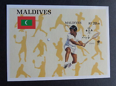 Maldives 1988 Olympic Games MS1290 IMPERF MNH UM unmounted mint never hinged
