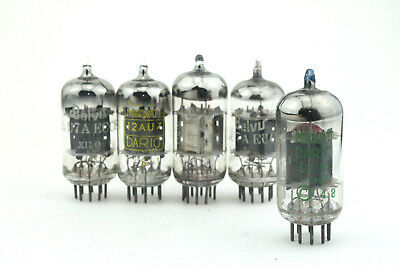 ECC82 / 12AU7 Vacuum Tube, Valve, Röhren, tests >75% USED X1