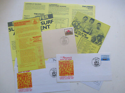 N0---5 --Sydney  To  Surf  1983  Information   +  3  Fdc's