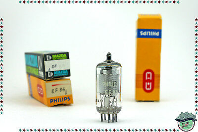 EF86 Philips Δ Vacuum Tube, Valve, Röhren, NOS, NIB. x1