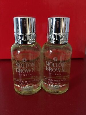 1b954be6e24ae MOLTON BROWN Dewy Lily of the Valley and Star Anise Body Wash DT Size •Lot