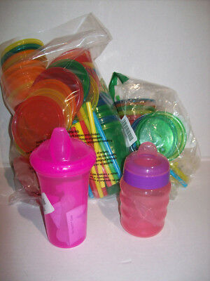 Nuby No Spill Cup, Philips Avent My Easy Sippy Cup, Misc Cup BUNDLE!