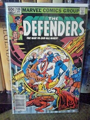 Defenders (1st Series) #106 (Newsstand, 1982)