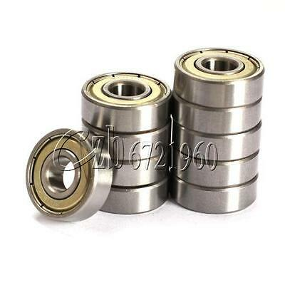 2PCS 608zz Deep Groove Ball Bearing Carbon Steel For Skateboard Roller Blade