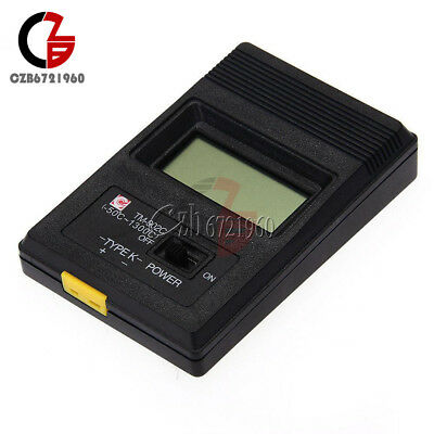 TM-902C Digital LCD K Type Thermometer Meter Single Input + Thermocouple Probe