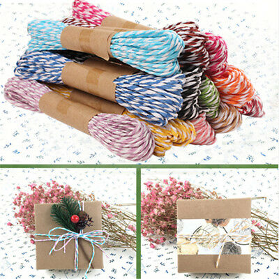 10 M Twisted Craft Favor Gift Wrapping Twine Rope Invitation Flower Decoration