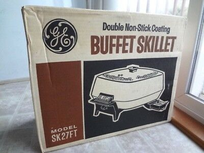 General Electric Vintage Buffet Electric Skillet (Made in USA) - Free Shipping