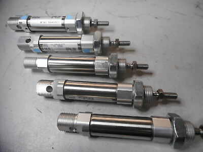 AIR CYLINDERS -- BULK LOT of 5 -- 16 Bore x 15 stroke -- OOAU -- CD85N16-15-B