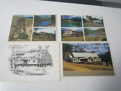 IrvineBank NQ x 4 postcards North Queensland unused