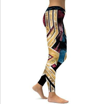 New legging Wonder Woman Cosplay Printed High Waist legging S-XL Legging