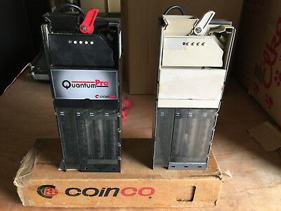 Coin Acceptors with 4 tube changers