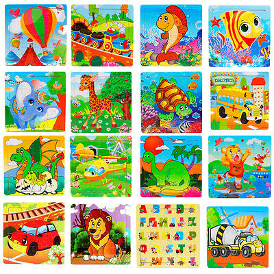 Wooden Kids Jigsaw Toys For Children Education And Learning Puzzles Toy Gifts